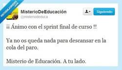Enlace a Llegan los finales por @misteriodeduca