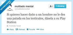 Enlace a Si quieres ver a un hombre sufrir por @mutiladomental