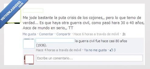 chulillo,crisis,Facebook,guerra,ignorante,Tonto