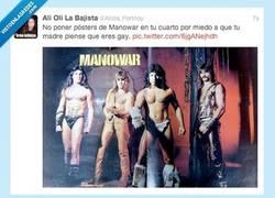 Enlace a Por eso me gusta Manowar, pero en secreto por @alicia_portnoy
