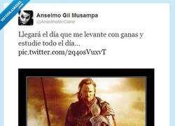 Enlace a ¿Qué opinas, Aragorn? por @anselmomcclane