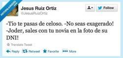 Enlace a ¿Celoso, yo? por @jesusruizortiz
