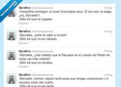 Enlace a Las vacaciones de Sócrates por @serafinobuendia