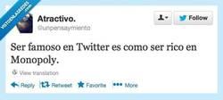 Enlace a Famosillos de twitter por @unpensaymiento