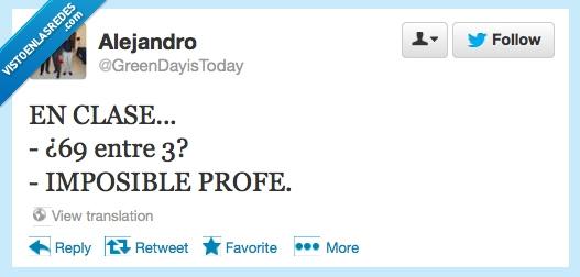 69,entre,Imposible,Matemáticas,tres