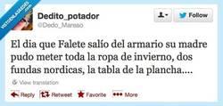 Enlace a Cuando Falete salió del armario por @Dedo_Mareao