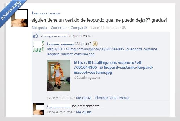 broma,chettos,facebook,ganchitos,leopardo,mascota,patatas,vestido