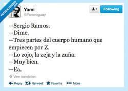 Enlace a Anatomía con Sergio Ramos por @yamiroguay