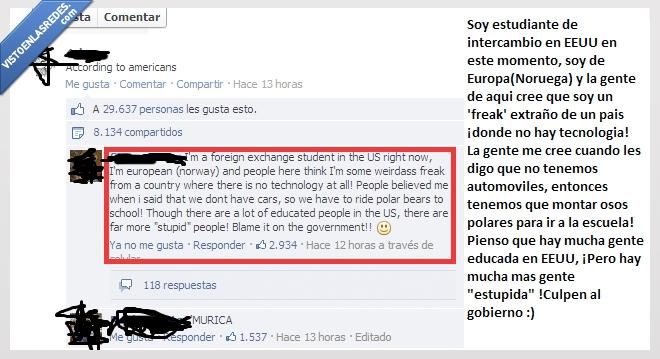 comentario,estudiante,estupidos,facebook,gente