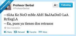 Enlace a Y seguro que no sabes quién es el padre por @profesorserbal