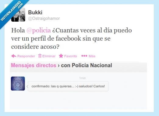 acoso,facebook,perfil,policia,preguntas,twitter