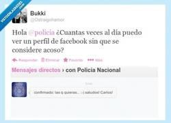 Enlace a Gracias, Carlos, muy útil por @policia y @ostraigohamor