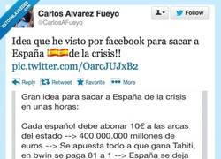Enlace a Idea para sacar a España de la crisis por @CarlosAFueyo