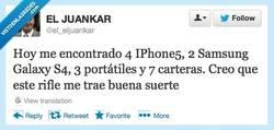 Enlace a Demasiada suerte por @el_eljuankar
