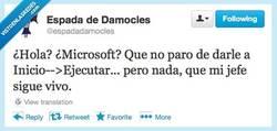 Enlace a ¿Hola? ¿Soporte técnico? por @espadadamocles