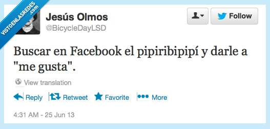 cancion,dar,facebook,me gusta,pipiribipipi