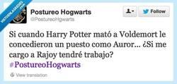 Enlace a La lógica me dice que sí por @postureohogwarts