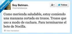 Enlace a No hay nada más sano por @cometelasopa
