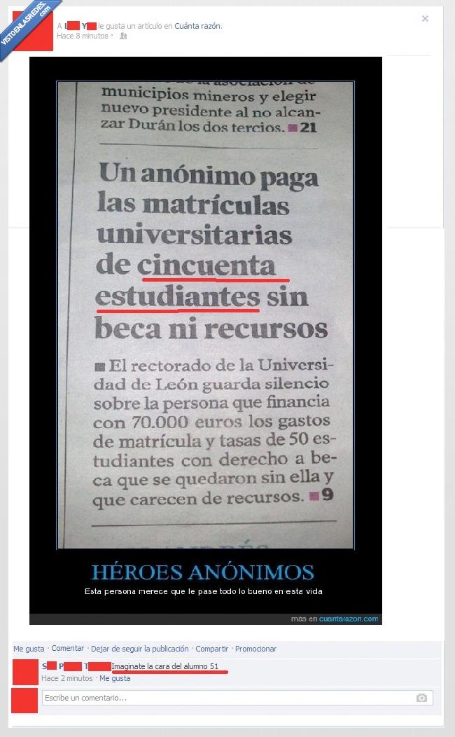 anónimo,bad luck,estudiantes,matricula,paga,sin beca