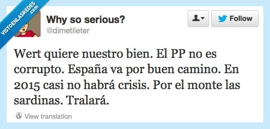 corrupción,crisis,mentiras,política,pp,wert