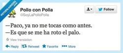 Enlace a Paco, ¿qué te pasa? por @SoyLaPolloPolla