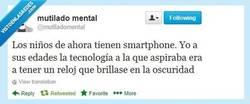 Enlace a Infancia tecnológica por @mutiladomental