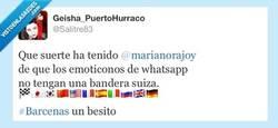 Enlace a Rajoy, Bárcenas y Whatsapp. Buen trío. por @Salitre83