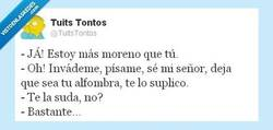 Enlace a Morenos, seres superiores... por @TuitsTontos