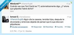 Enlace a Hoy, en cuarto milenio encontramos a un fan de Tony Canto por @IsmaCarreno