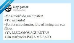 Enlace a Mordida de hipster por @eloygomez