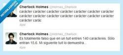 Enlace a Twitter nos ha estado engañando todo este tiempo por @Holmes_Cherlock