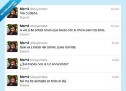 Enlace a Cuando las madres tienen twitter... por @Soyyomama