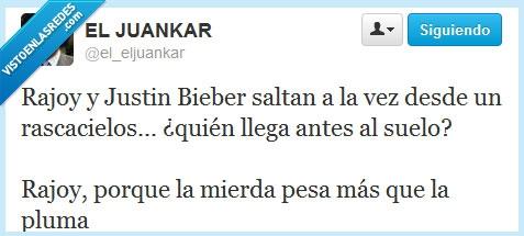 adivinanza,Justin Bieber,Rajoy,rascacielos,suelo