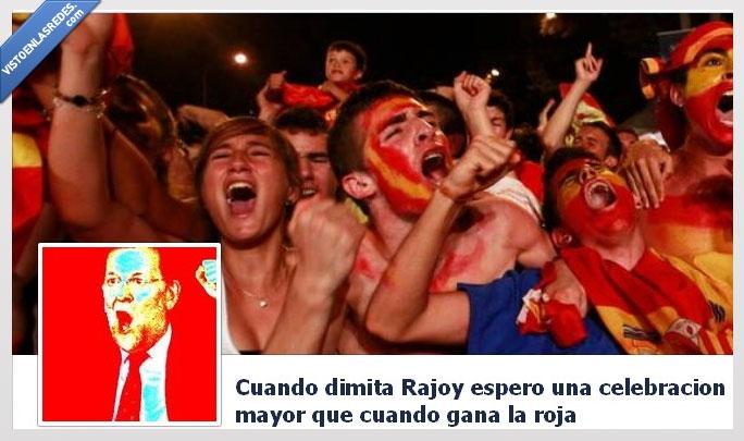 celebración,dimisión,españa,grupo,rajoy,roja