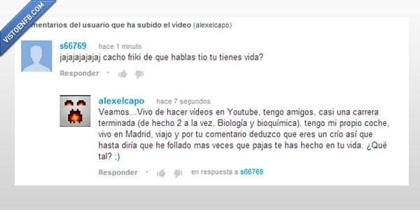fail,maduro,respuesta,win,youtube,zas