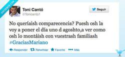 Enlace a El diputado @Tonicanto1 vuelve a confirmar que esto de la política española es puro circo