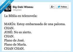 Enlace a Así sería La Biblia en telenovela por @BigDabi