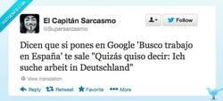 Enlace a Y no hay quién contradiga a Google por @Supersarcasmo