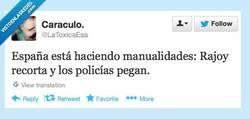 Enlace a Manualidades made in Spain por @latoxicaesa