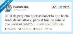 Enlace a La verdad de Art Attack por @PostureoEs