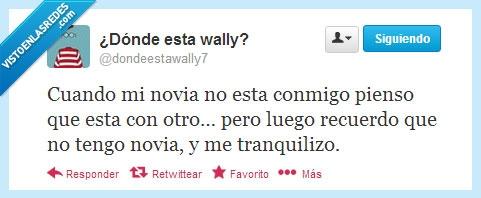 forever alone,novia,twitter