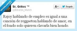 Enlace a Rajoy vs. reggaeton por @Edvardo_Munch