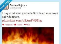 Enlace a Sevilla en verano por @ItsBorguing