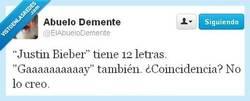 Enlace a 12 letras, por @ElAbueloDemente