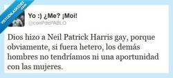 Enlace a Si Neil Patrick Harris fuera hetero por @conPdePABLO
