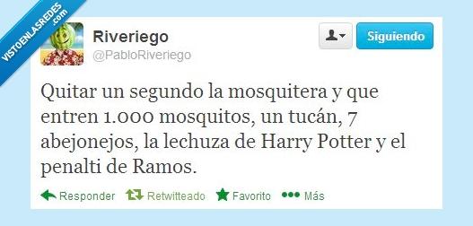 abejonejo,harry potter,mosquitera,mosquitos,penalti,ramos