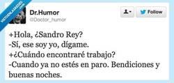 Enlace a Sandro Rey, el visionario de España por @Doctor_humor