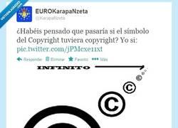 Enlace a Filosofos del Copyright por @karapaNzeta