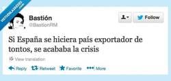 Enlace a El fin de la crisis por @bastionrm