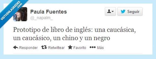 caucasica,caucasico,chino,inglés,libros,negro,portada,razas,tapa